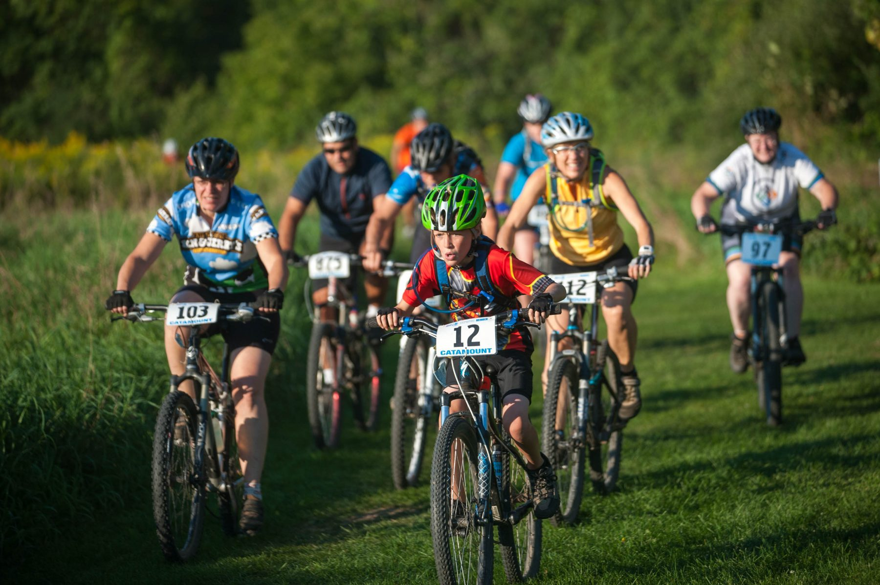 Catamount Outdoor Family Center Adult Mountain Bike Races
