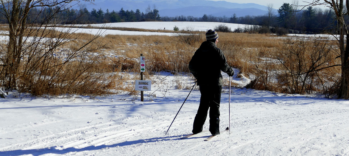 Cross Country Skiing at Catamount Vermont