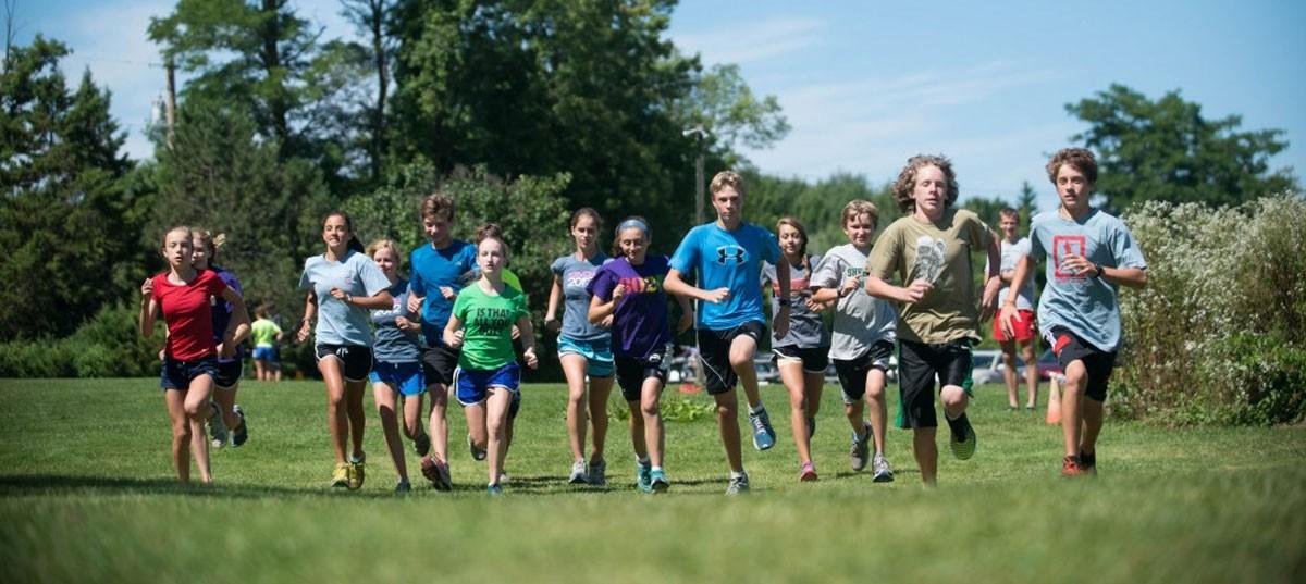 Trail Running for kids